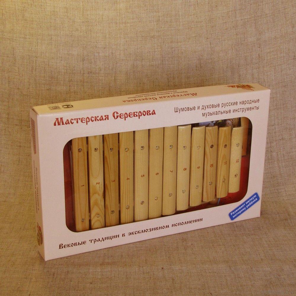 Ксилофон диатонический (12 пластин)