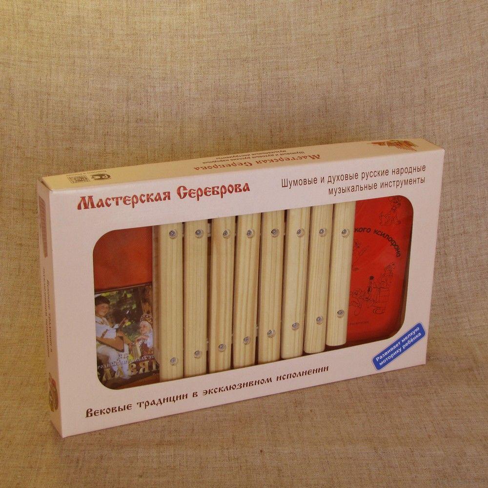 Ксилофон диатонический (8 пластин)